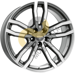 Alutec DriveX 9.5x21 5x120  ET22 Dia74.1 Metal Grey Front Polished