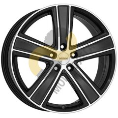 DEZENT TH dark 8.5x19 5x108  ET45 Dia70.1 Matt Black Polished Face